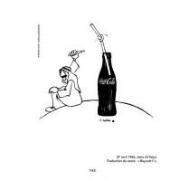 En 1966 déjà, les  multinationales… Dessin extrait du Livre de Handala (p. 143)